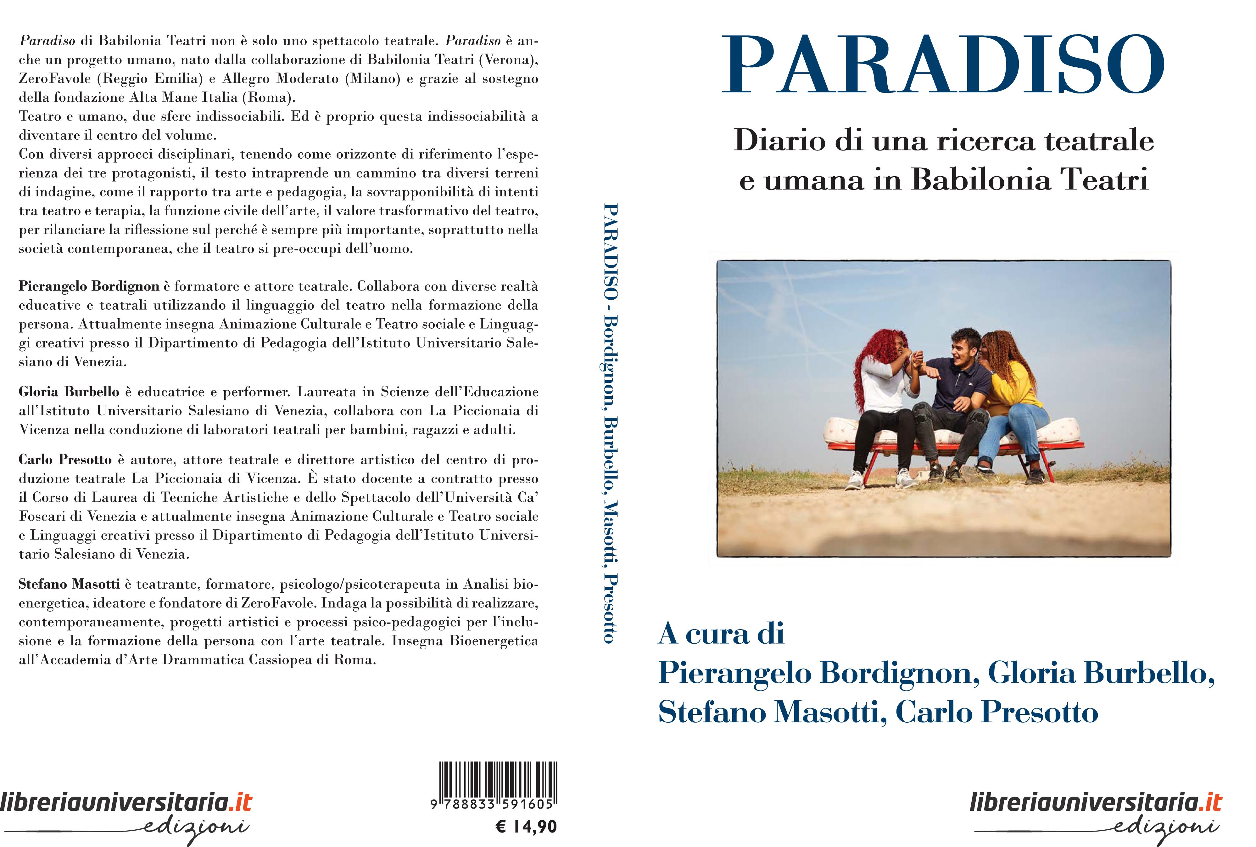 Babilonia Teatri libro Paradiso